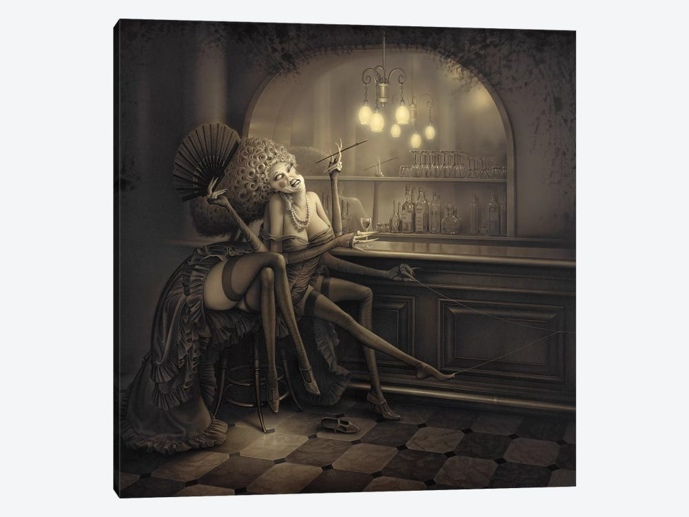 Ida The Spider by Kirk Reinert 1-piece Canvas Art