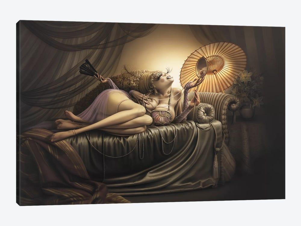 Ida, Slave To Love by Kirk Reinert 1-piece Canvas Art Print