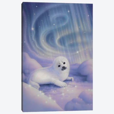 Aurora Baby Canvas Print #KRE5} by Kirk Reinert Canvas Art