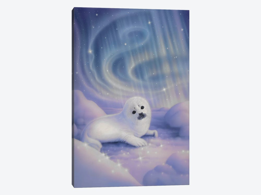 Aurora Baby by Kirk Reinert 1-piece Canvas Wall Art