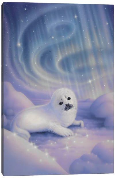Aurora Baby Canvas Art Print