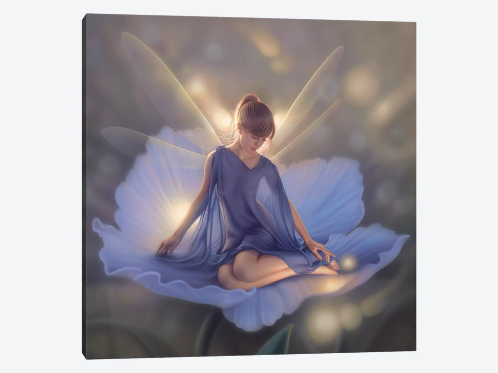 In The Garden Of Light by Kirk Reinert 1-piece Canvas Wall Art
