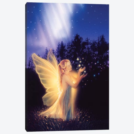 Keeper Of Lost Hearts Canvas Print #KRE61} by Kirk Reinert Art Print