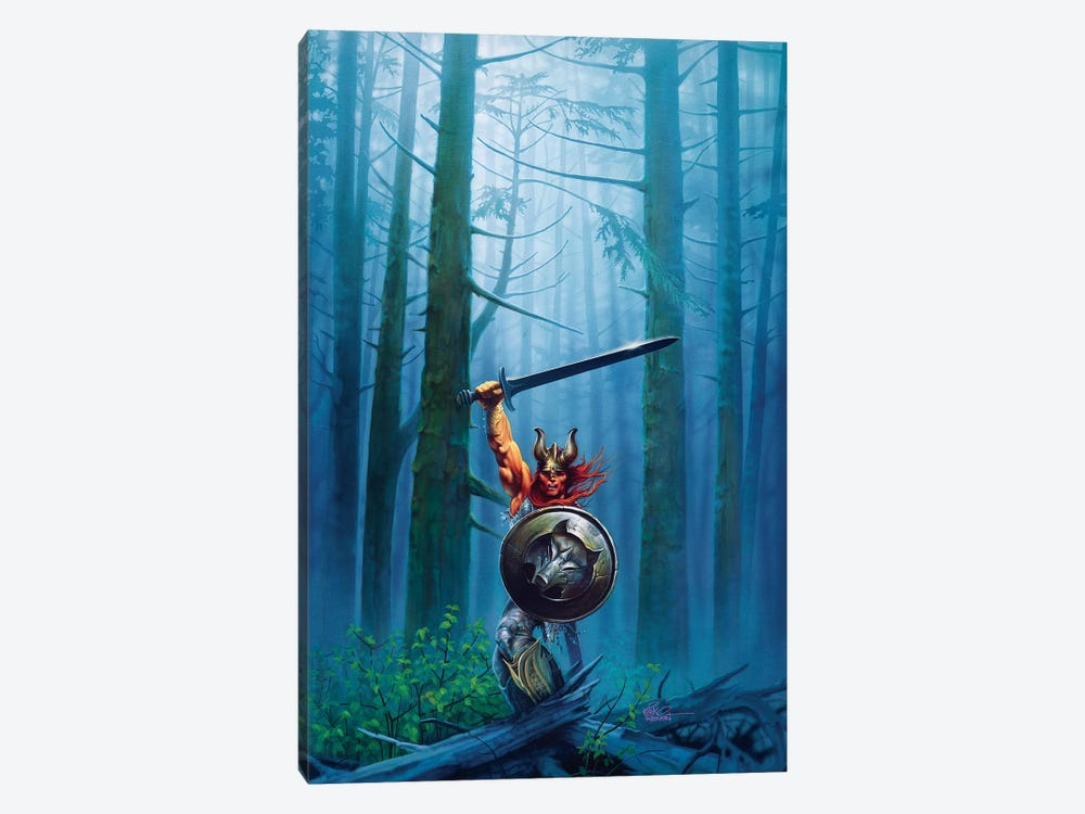 King Of The Woods by Kirk Reinert 1-piece Canvas Art