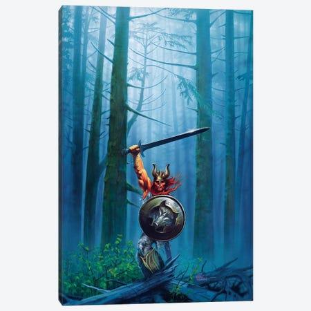 King Of The Woods Canvas Print #KRE62} by Kirk Reinert Art Print