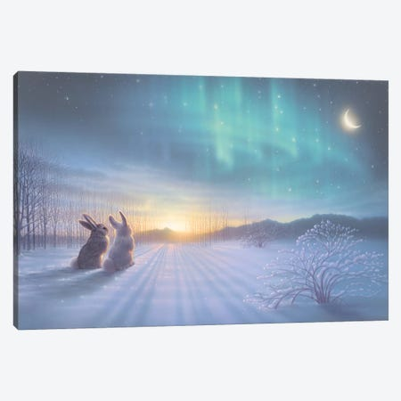Lovely, Lovely Night Canvas Print #KRE66} by Kirk Reinert Canvas Wall Art