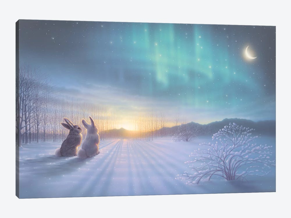 Lovely, Lovely Night by Kirk Reinert 1-piece Canvas Art