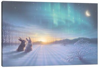Lovely, Lovely Night Canvas Art Print