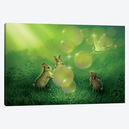 Magical Afternoon Canvas Print #KRE67} by Kirk Reinert Canvas Artwork