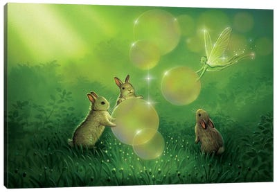 Magical Afternoon Canvas Art Print