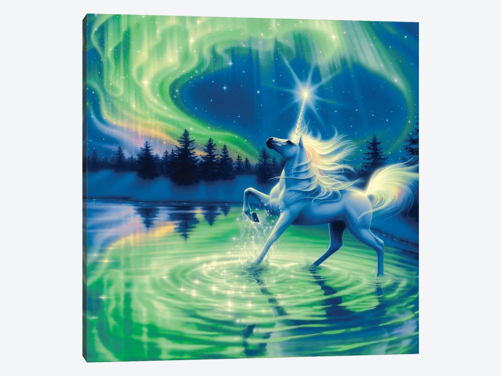 Majestic Night by Kirk Reinert 1-piece Canvas Print