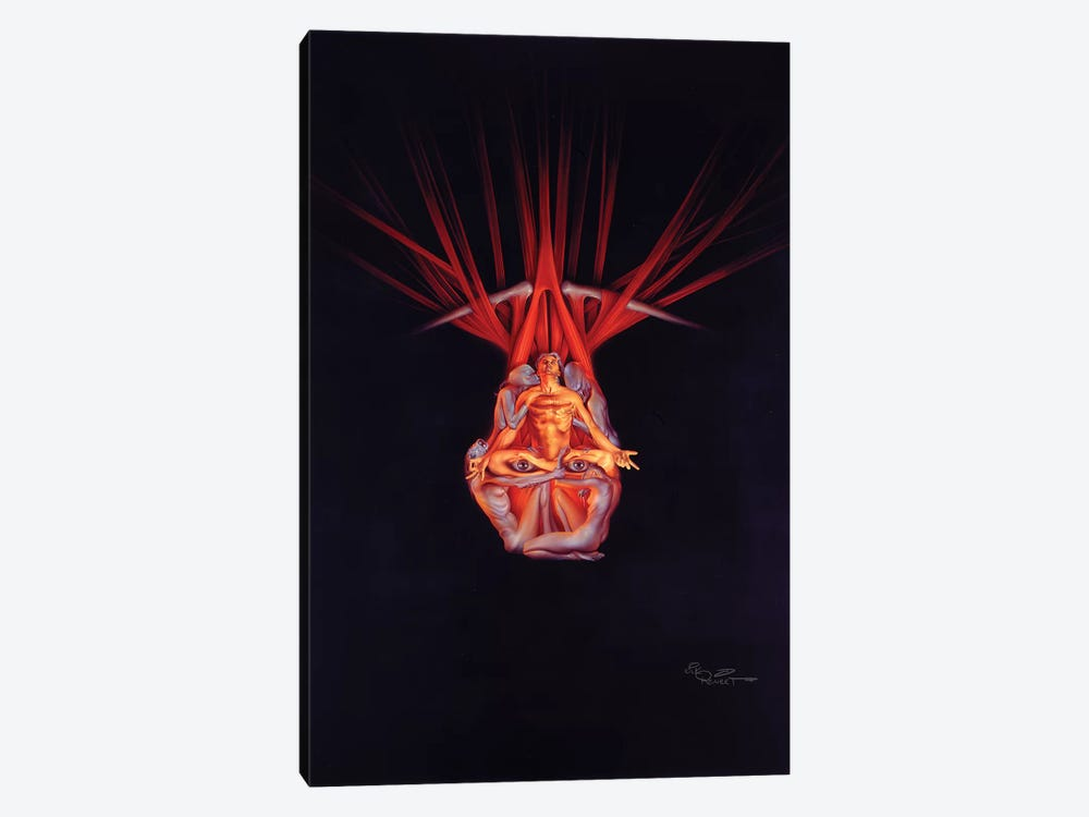 Meditation by Kirk Reinert 1-piece Canvas Art Print