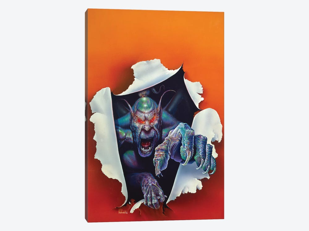 Monster From The Other Side by Kirk Reinert 1-piece Canvas Art