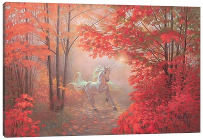 Autumn Magic Canvas Art Print
