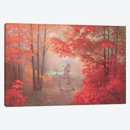 Autumn Magic 3-Piece Canvas #KRE7} by Kirk Reinert Canvas Wall Art