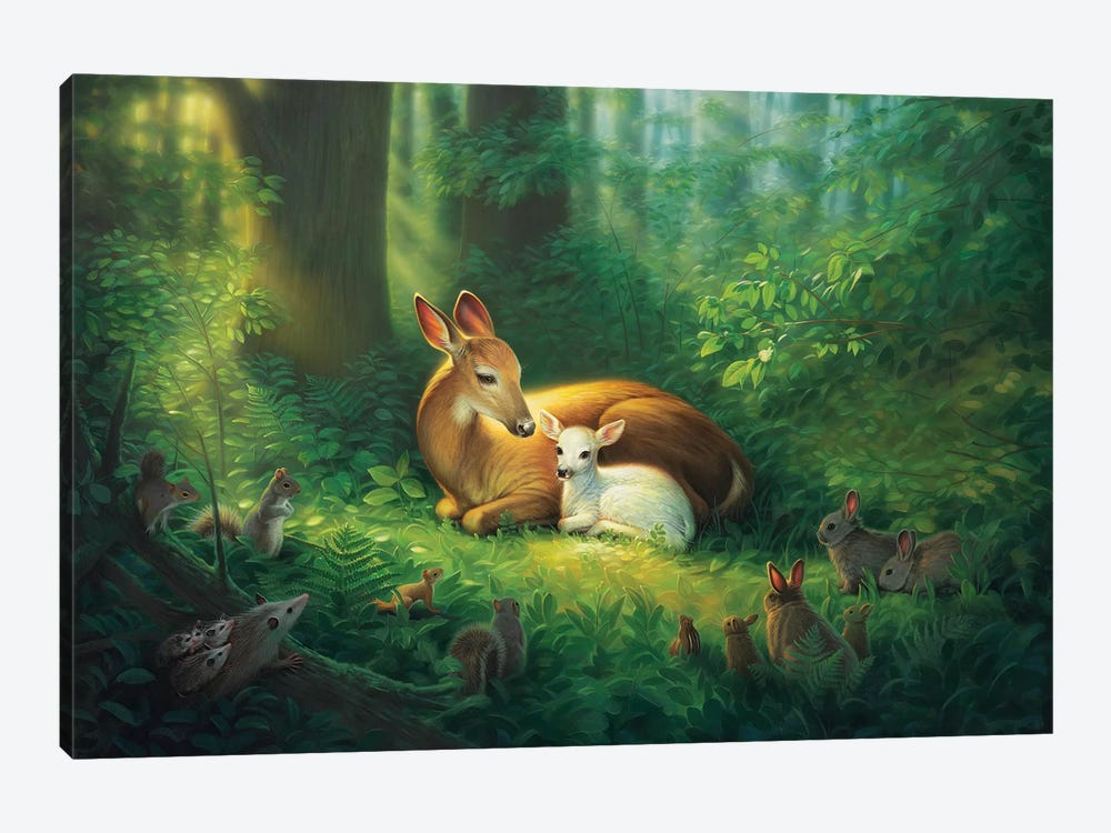 Precious 1-piece Canvas Wall Art