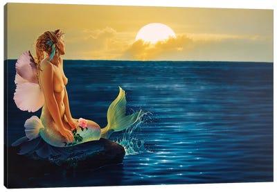Rising To Greet The Dawn Canvas Art Print