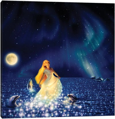 Sea Of Stars Canvas Art Print