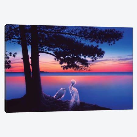 Serenity Canvas Print #KRE96} by Kirk Reinert Art Print