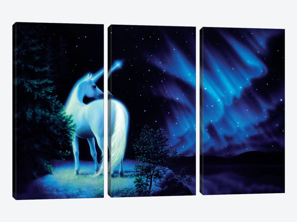 Silent Night by Kirk Reinert 3-piece Canvas Artwork