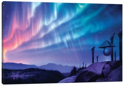 Skywatchers Canvas Art Print