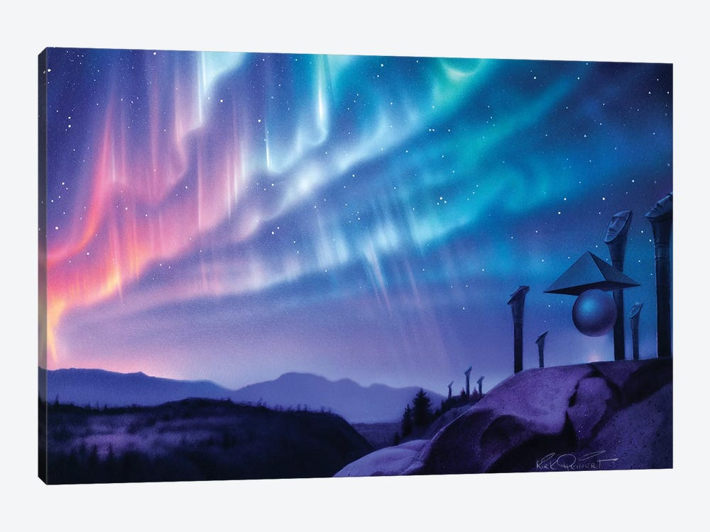 Skywatchers by Kirk Reinert 1-piece Art Print