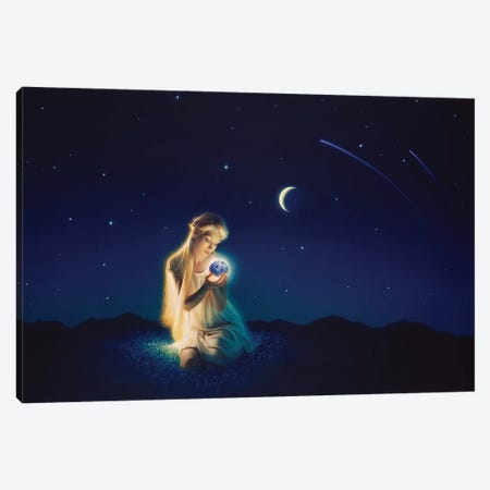 Small Miracle Canvas Print #KRE99} by Kirk Reinert Canvas Artwork