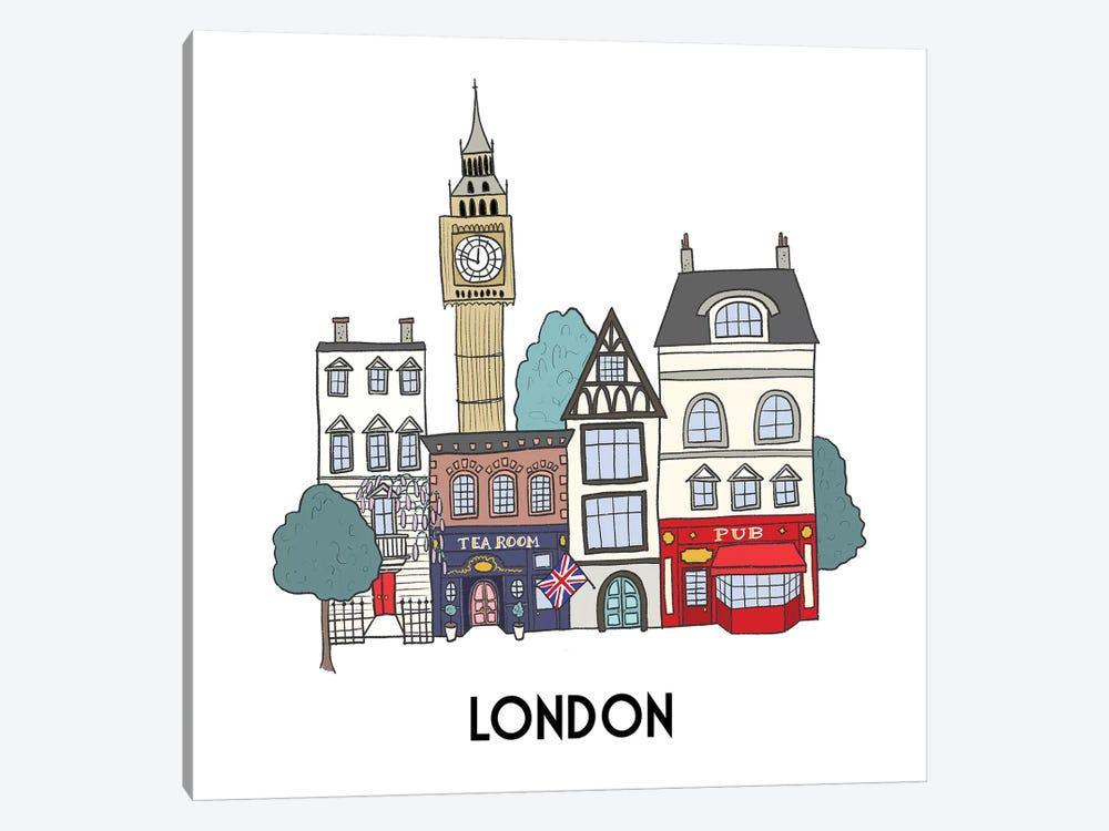 London by Kristina Hultkrantz 1-piece Canvas Print