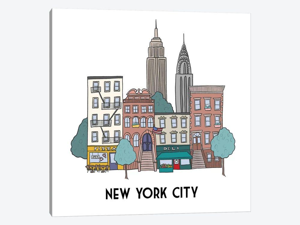 New York by Kristina Hultkrantz 1-piece Canvas Artwork