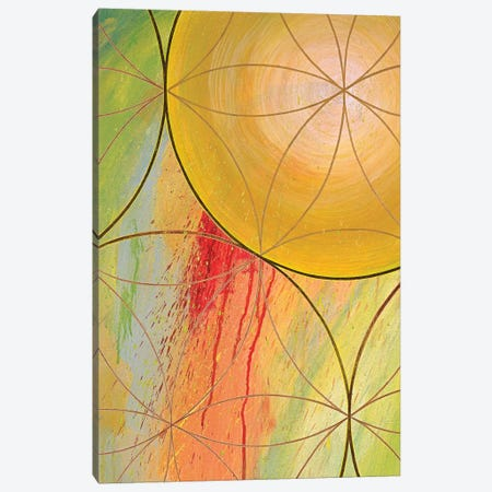 Downward Causation Canvas Print #KRI10} by Kristin Reed Canvas Artwork