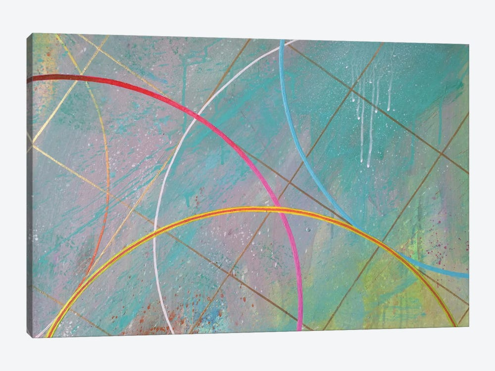 Gravity Suite II by Kristin Reed 1-piece Canvas Wall Art