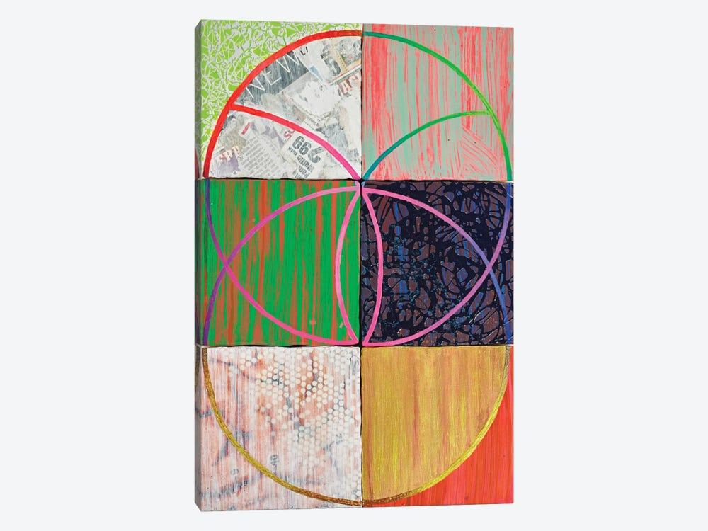 Junk DNA by Kristin Reed 1-piece Canvas Artwork