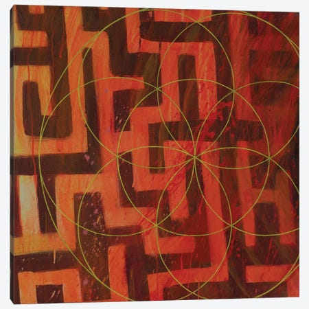 Lodestar Labyrinth Canvas Print #KRI25} by Kristin Reed Canvas Artwork