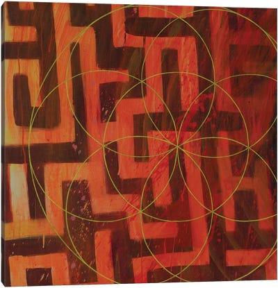 Lodestar Labyrinth Canvas Art Print