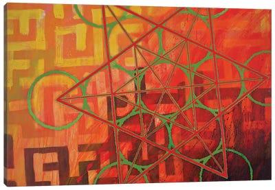 Metatron's Maze Canvas Art Print