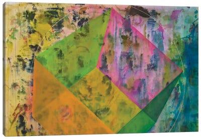 Hexahedron (Earth) Canvas Art Print