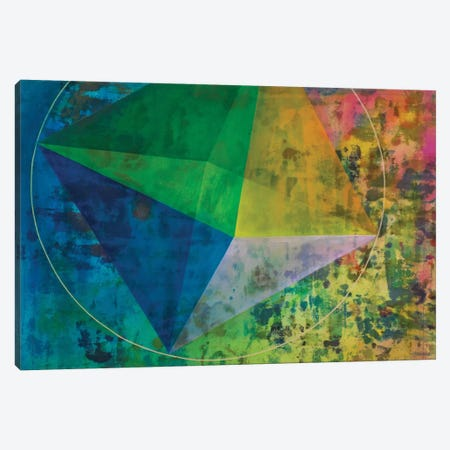 Octahedron (Air) Canvas Print #KRI36} by Kristin Reed Art Print