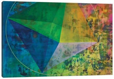 Octahedron (Air) Canvas Art Print