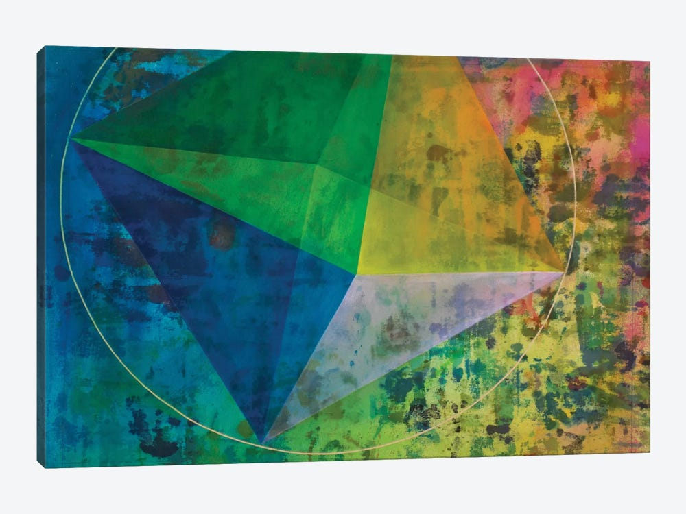 Octahedron (Air) by Kristin Reed 1-piece Canvas Art Print