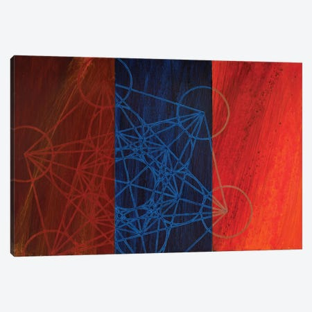 The Emergence Of Metatron Canvas Print #KRI38} by Kristin Reed Canvas Wall Art