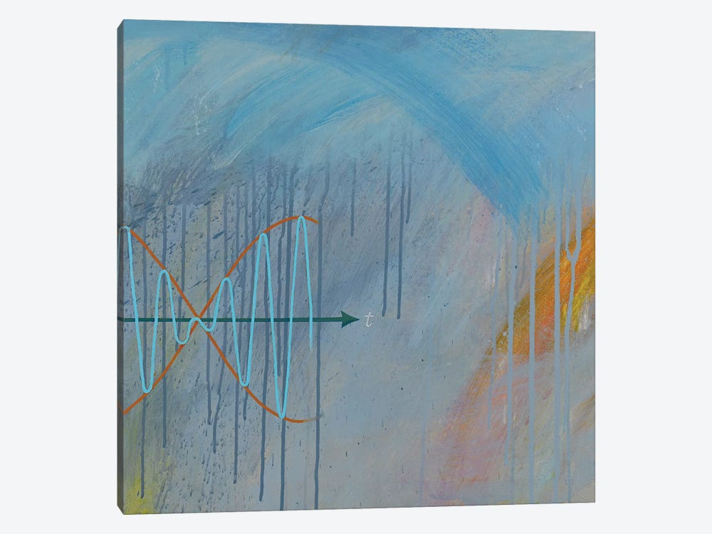 The Music Of Chance: 2nd Movement by Kristin Reed 1-piece Canvas Art