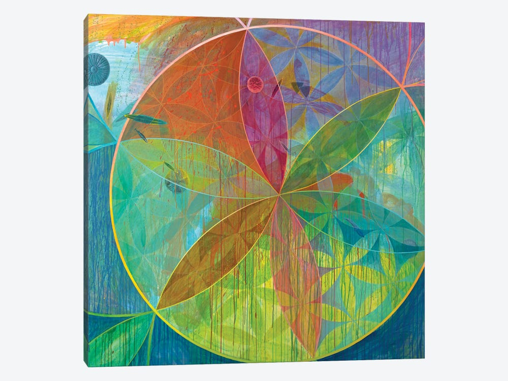 Unaccountable Galaxies by Kristin Reed 1-piece Canvas Wall Art