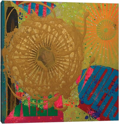 Ancestral Orb Canvas Art Print