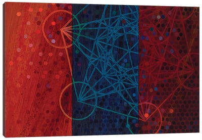 Re-Emergence Of Metatron Canvas Art Print