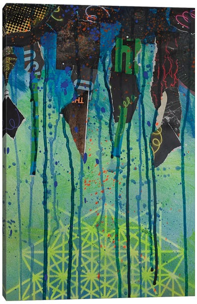 Stalagtites Canvas Art Print