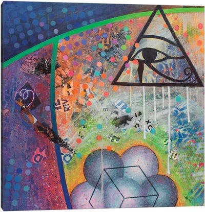 Tears Of Horus Canvas Art Print