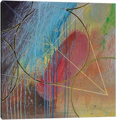 Dark Matter Canvas Art Print