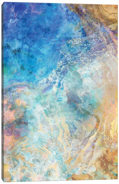 Oceanic Gold II Canvas Art Print