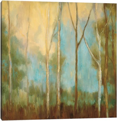 Bare Trees II Canvas Art Print