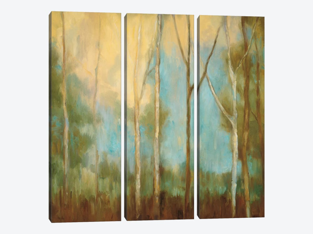 Bare Trees II by Kristi Mitchell 3-piece Canvas Art Print